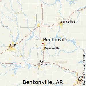 best places to live in bentonville, arkansas