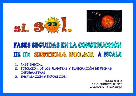 como ago una exppcicion del sisyema solar 7 sistema solar c 243 mo se hace
