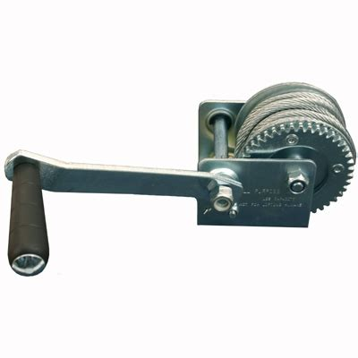 boat trailer winch cable hand cable winch 1200 lb boat trailer towing winch