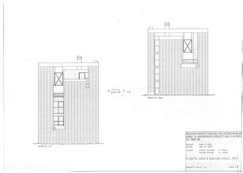 Open Plan House Plans Mario Botta Casa Bianchi Riva S Vitale Ticino