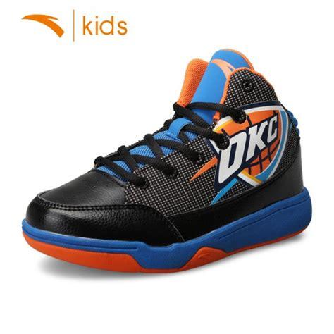 nba basketball shoes anta nba youth durable basketball shoes okc