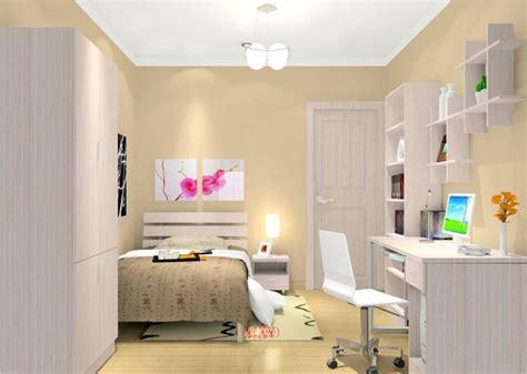 beige walls bedroom ideas beige walls and white ceiling for minimalist bedroom 3d