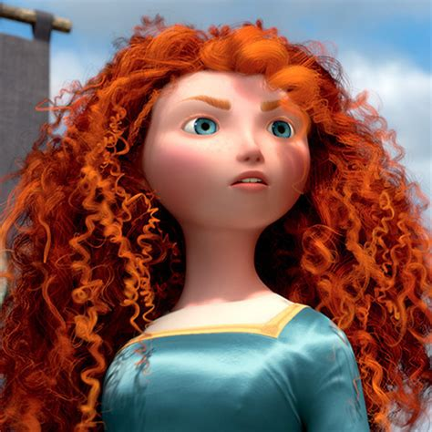 Live From New Yorkwhere I Am My Hair Blo by Merida Disney Princess