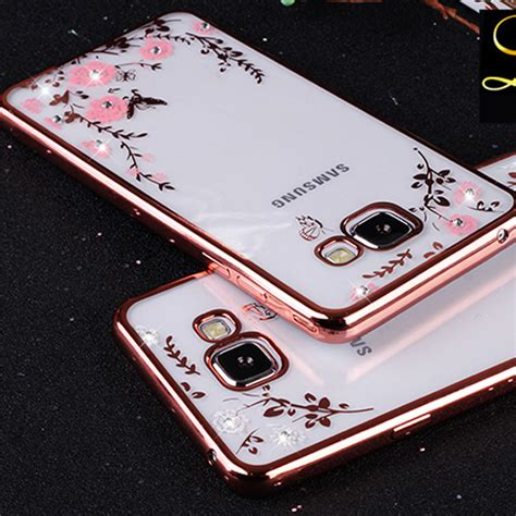 Best Seller Samsung Galaxy J3 2016 Unique 3d Tpu Soft Golden Wh aliexpress buy 2016 flower pattern tpu soft back cover for samsung galaxy j5 2016