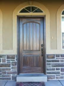 Fiberglass Front Doors Exterior Fiberglass Doors That Been Wood Grained Or Faux Finished To Match The Exterior