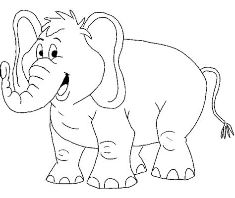 coloring pages of cartoon elephants print download teaching kids through elephant coloring