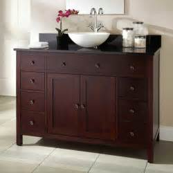 36 quot silva cherry vessel sink vanity bathroom