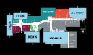 Map Of Mall Of Louisiana by Mall Map Of Prien Lake Mall A Simon Mall Lake Charles La