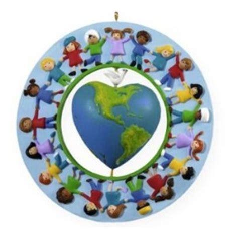 2009 hallmark keepsake ornament world of peace and love