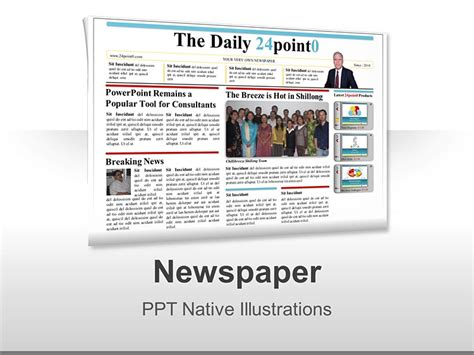 newspaper powerpoint template newspaper powerpoint template