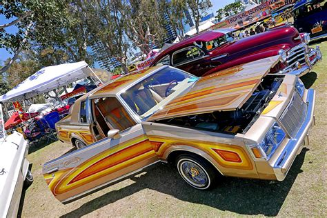 bays car from switched at switch car club 2016 day at the bay regal lowrider