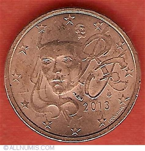 2 euro cent 2013, euro (2010 2019) france coin 29850