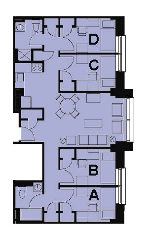 floor plans unit selection student village of boston university