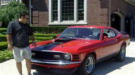 motor sales 1970 ford mustang mach 1 classic car for sale in mi