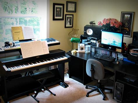 music house studios thomas stephanie s comfortably modern home house tour music studios music and
