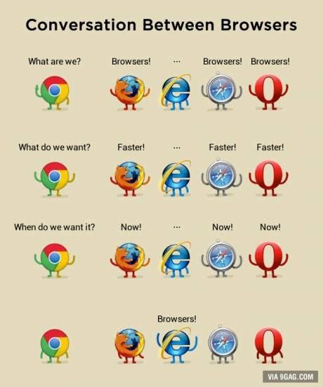 google chrome firefox internet explorer conversation between browsers google chrome mozilla