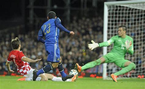 Argentina Contra Croacia La Dupla Messi Tevez En El Triunfo De Argentina Frente A