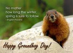 groundhog day just put that anywhere we shouldn t blame the groundhog for bad weather but we