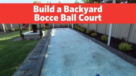 build a bocce court in backyard 7 best petanque courts images on pinterest backyard
