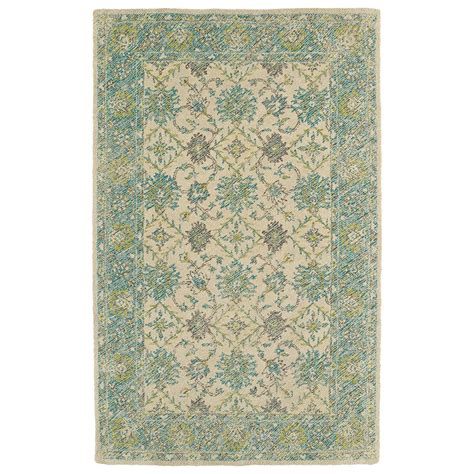 Area Rugs 5 X 6 Kaleen Weathered Teal 5 Ft X 7 Ft 6 In Indoor Outdoor Area Rug Wtr06 91 576 The Home Depot