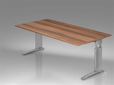 bureau en hauteur bureau r 233 glable en hauteur ergonomique plus 200 x 100 cm