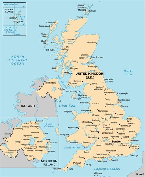 map of major cities in uk united kingdom major cities map