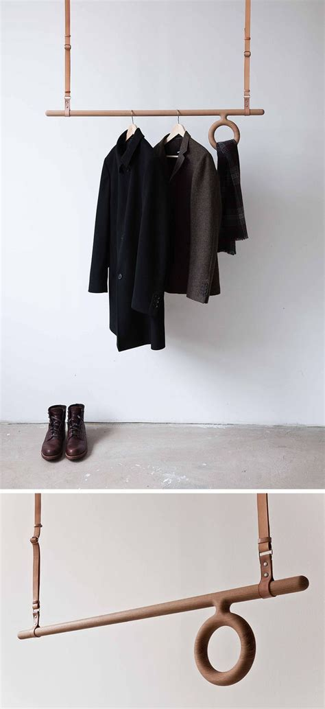 Hanging Clothes Rod From Ceiling by 1000 Ideas About Pallet Coat Racks On Coat