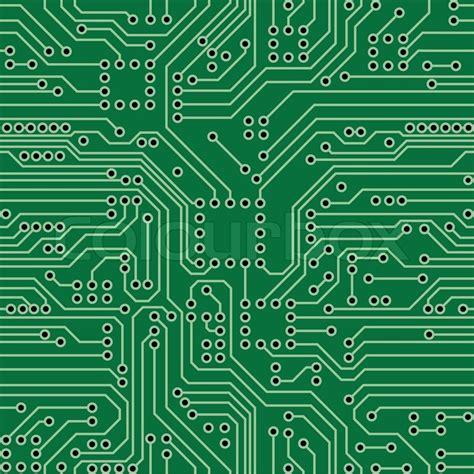electric circuit board for circuit board stock vector colourbox