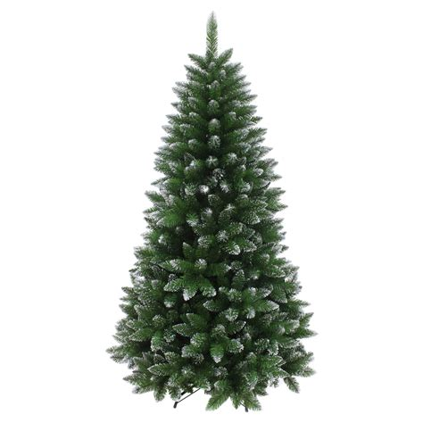 artificial grey silver tip tree 7ft artificial indoor tree shimmery glitter silver tips decoration 6ft 7ft