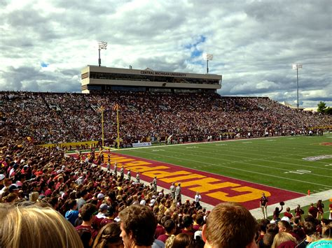 Eastern Michigan Mba by Central Michigan Chippewas Football All