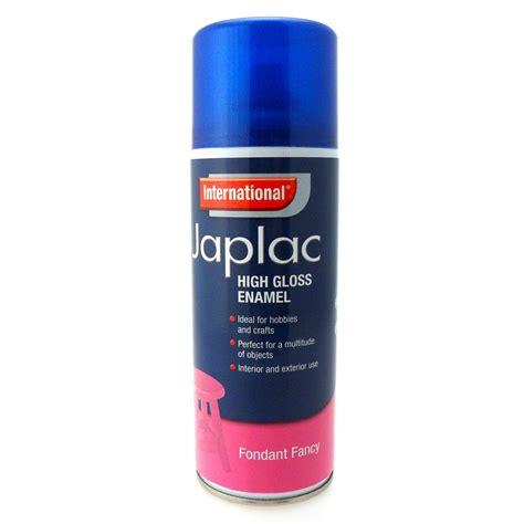 International Japlac High Gloss Enamel Metallic Spray