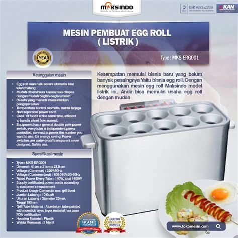 Mesin Egg Roll Listrik Mesin Pembuat Egg Roll Listrik Toko Mesin Maksindo