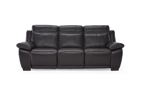 natuzzi living room modern italian leather motion sofa