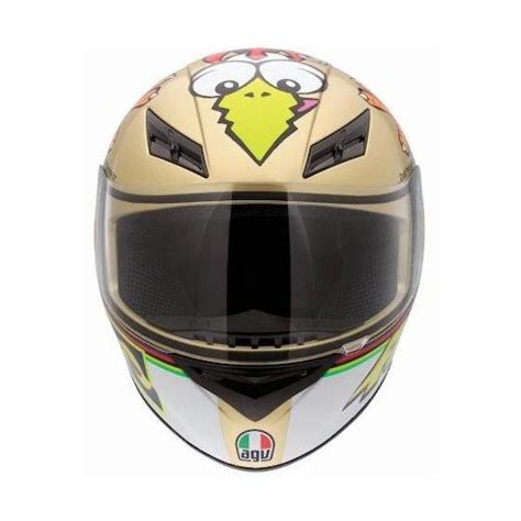 Helm Agv Chicken agv k3 the chicken helmet revzilla