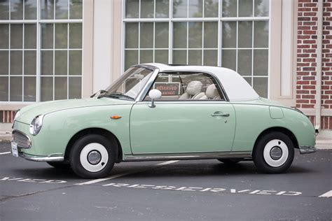 nissan figaro mint green 1991 nissan figaro for sale 19 995 with warranty