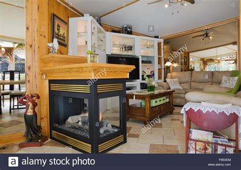 Fireplace Between Dining Room And Living Room Gas Fireplace Between The Dining Room And Living Room With