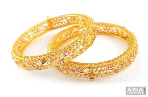 Bangles India Size L 24 gold antique bangles asba52113 us 3 792 22k