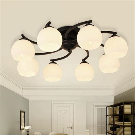 deco lustre modern wrought iron ceiling chandelier windmill l