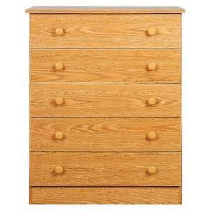 5 drawer dresser oak target