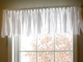 how to sew valances diy easy no sew window valance pottery barn inspired
