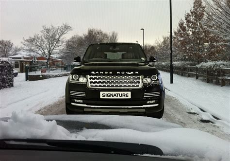 land rover snow get ready for the snow with our range rovers