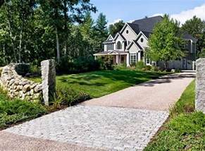 driveway south berwick me photo gallery landscaping