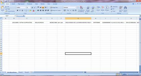 membuat form dan database dengan excel cara membuat form sederhana dengan microsoft excel
