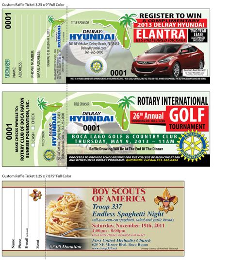 Fundraiser Raffle Tickets Template The Best Free Software For Your Vehiclethepiratebay Custom Raffle Ticket Template