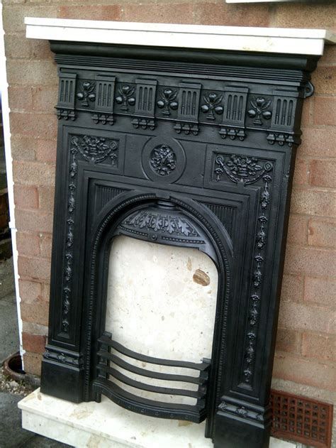 antiques atlas cast iron fireplace