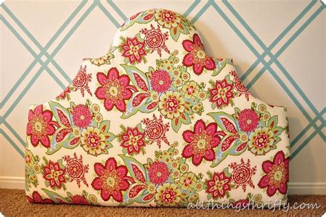 All Things Thrifty Headboard by How To Make Upholstered Headboards All Things Thrifty