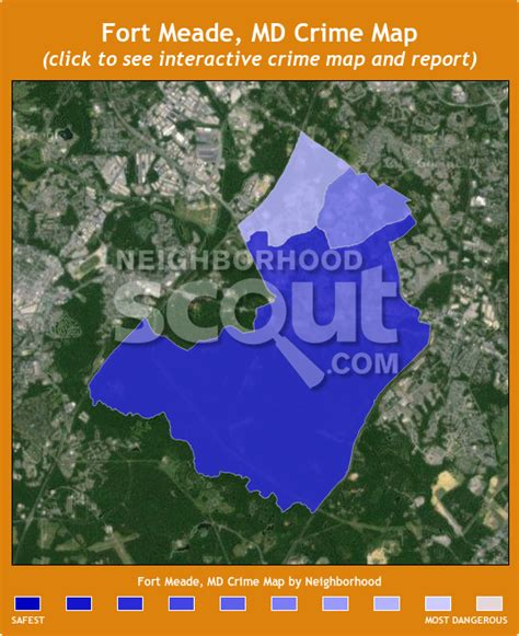 maryland map fort meade fort meade md crime rates and statistics neighborhoodscout