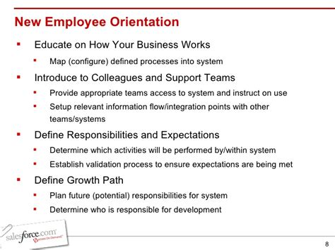 themes for new hire orientation meet salesforce your new employee
