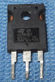 transistor w10nk80z srd 12vdc sl c archives datasheetcafe