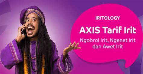 Perdana Axis Irit promo kartu axis di bulan februari 2018